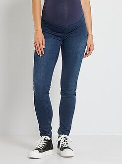 Jeggings premaman effetto denim