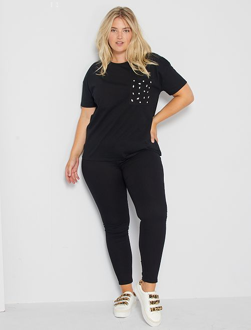 Jeggings skinny denim stretch                                                                                         NERO
