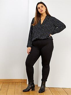 Jeans nero - Jeggings skinny stretch L30