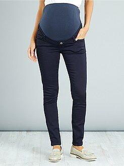 Pantaloni - Jeggings stretch fascia di maglia