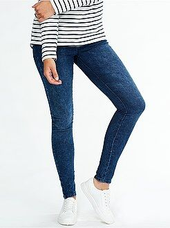 Jeans - Jeggings super skinny vita alta