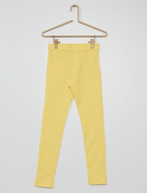 Joggers eco-sostenibili                                                                             giallo dorato