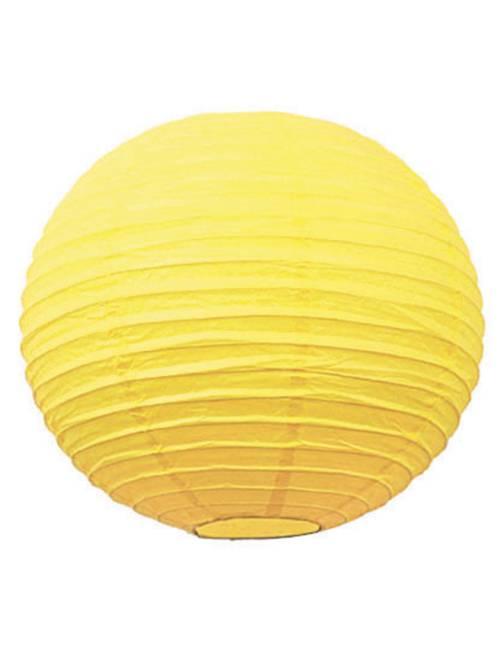 Lanterna cinese carta 15 cm                                                                             giallo