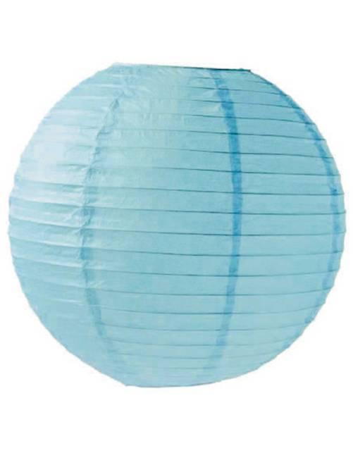 Lanterna cinese carta 35 cm                                                                                                                 blu