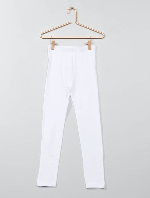 Legging stretch                                                                                                                 bianco