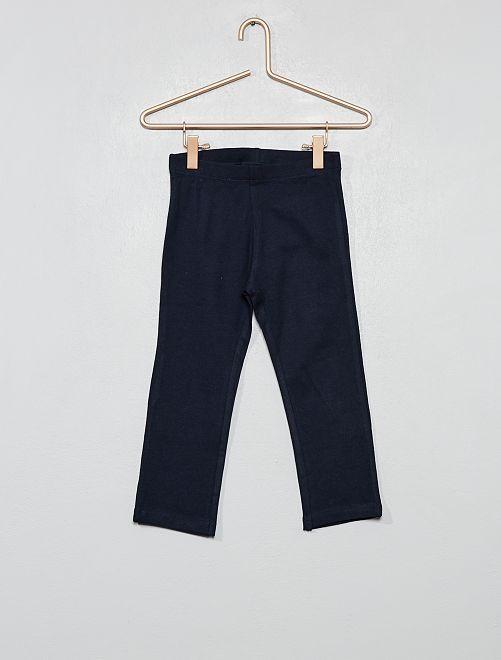 Leggings corti stretch                                                                                             blu