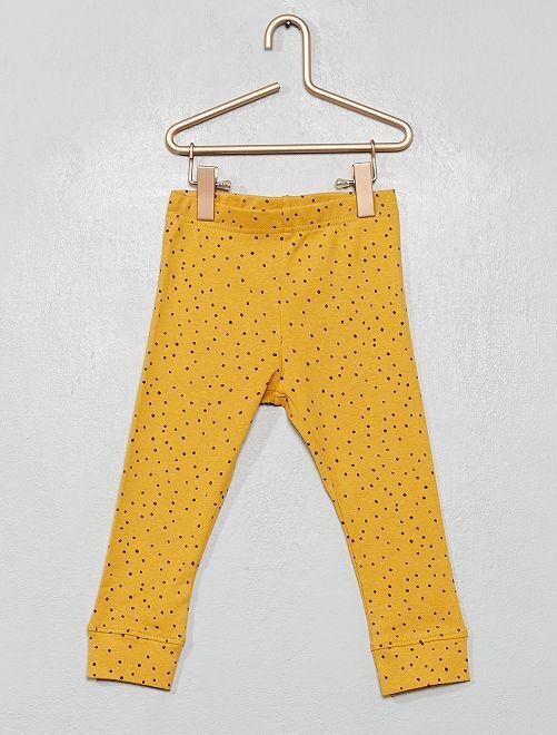 Leggings 'eco-design'                             GIALLO