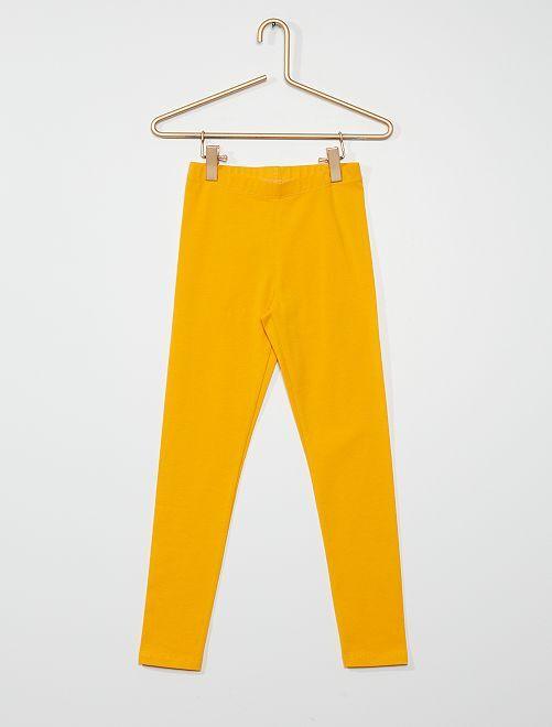 Leggings eco-sostenibili                                                                                                                             giallo