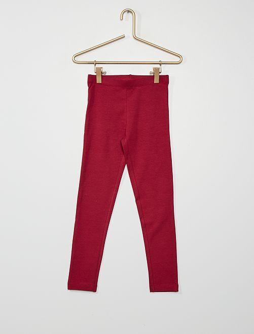 Leggings eco-sostenibili                                                                                                                             rosso