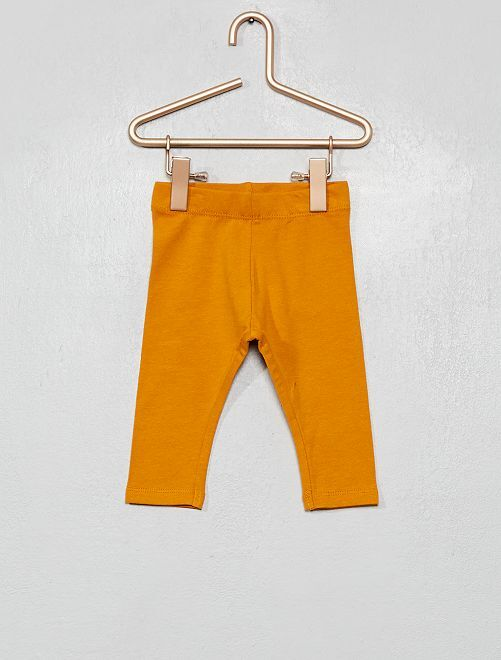 Leggings jersey stretch                                                                                         GIALLO