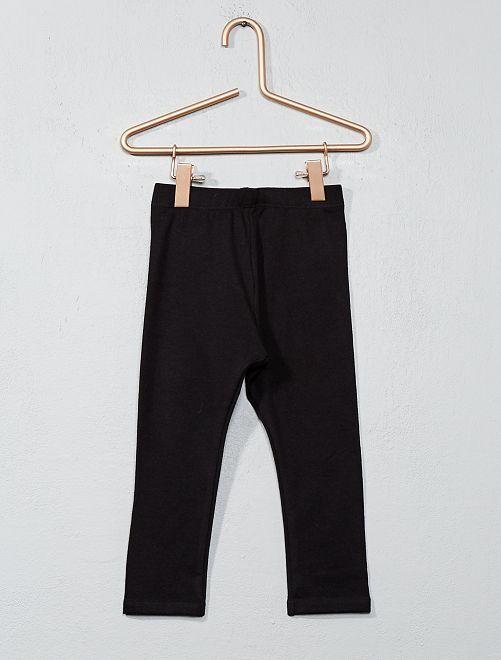 Leggings jersey stretch                                                                                                                             nero Neonata
