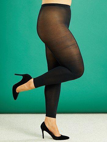 Leggings leggeri taglie forti 80 D - Kiabi