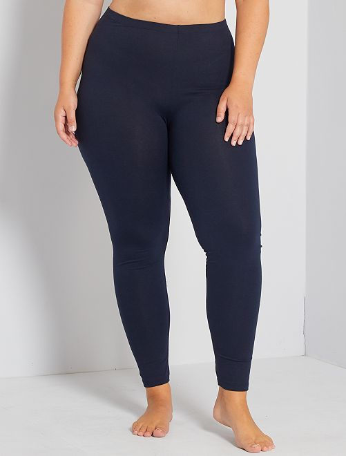 Leggings lunghi cotone STRETCH                                                                 blu