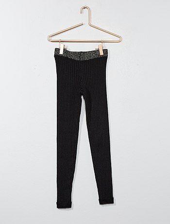 Leggings lunghi maglia - Kiabi