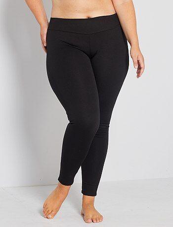Taglie forti donna - Leggings maglia contenitiva - Kiabi