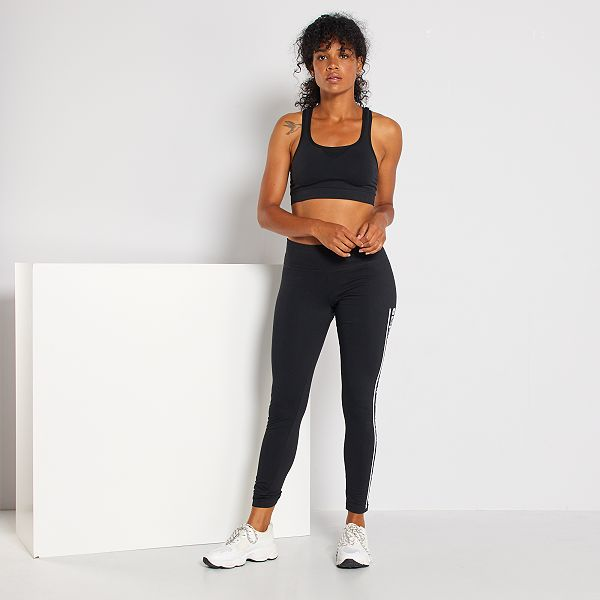 adidas donna leggings nero