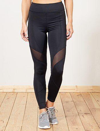 Donna dalla 38 alla 52 - Leggings sport tasca con zip - Kiabi