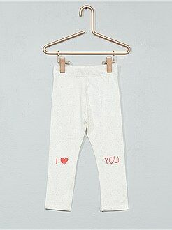 Pantaloni, jeans, leggings - Leggings stampati cotone stretch