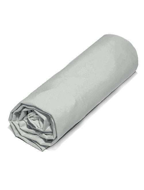 Lenzuolo con angoli in microfibra                                                     grigio