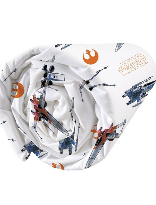 Lenzuolo con angoli singolo 'Star Wars'                             bianco