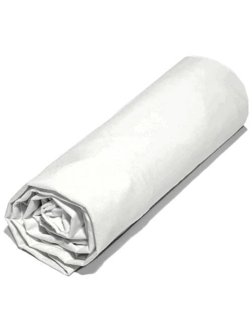 Lenzuolo con angoli tinta unita 140 x 200                                 bianco Casa