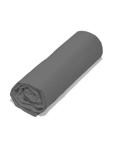 Lenzuolo con angoli tinta unita 140 x 200                                                                 gris Casa