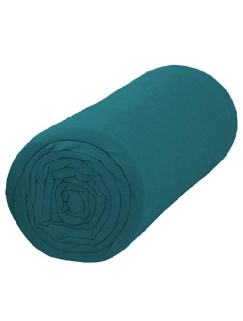 Lenzuolo con angoli tinta unita 160 x 200                             blu Casa