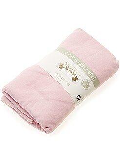 Biancheria letto per adulti - Lenzuolo con angoli tinta unita per letto bebè