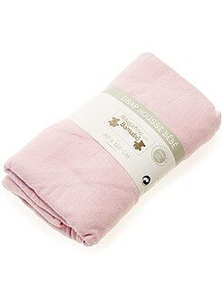 Lenzuolo con angoli tinta unita per letto bebè