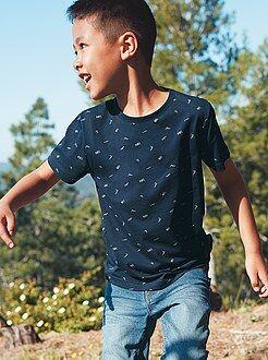 Magliette maniche corte - Maglia cotone a righe