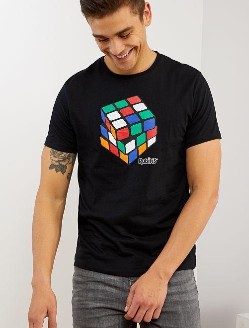 Maglia 'Rubik's'                             nero