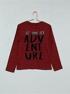 T-shirt, polo - Maglia stampa fantasia - Kiabi