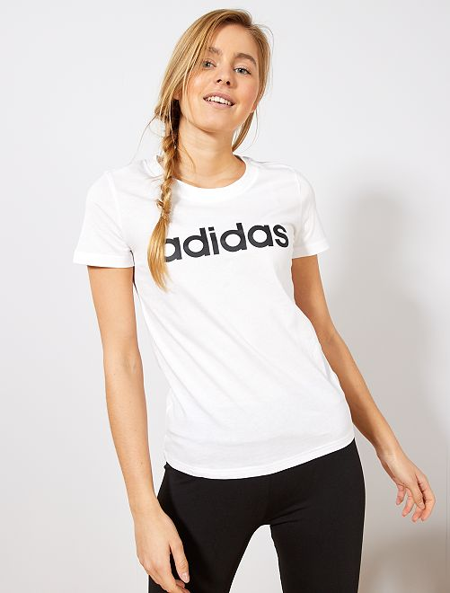 Maglietta 'Adidas'                             BIANCO