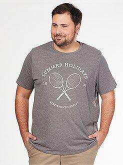 Maglietta comfort jersey stampa sport