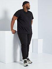 Maglietta comfort jersey tinta unita