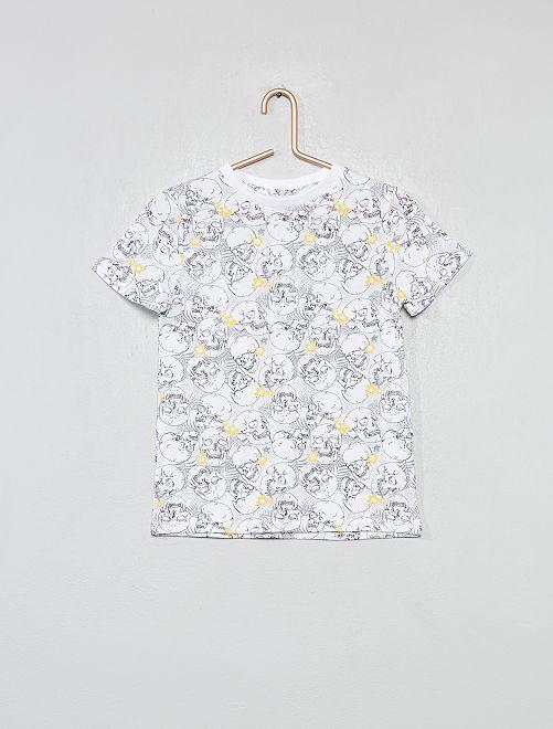 Maglietta con stampa                                                                                         BEIGE Infanzia bambino