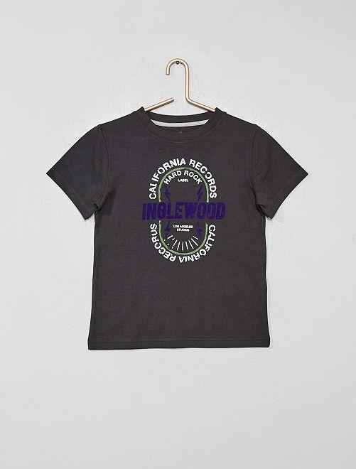 Maglietta cotone bio                                                                                                     NERO