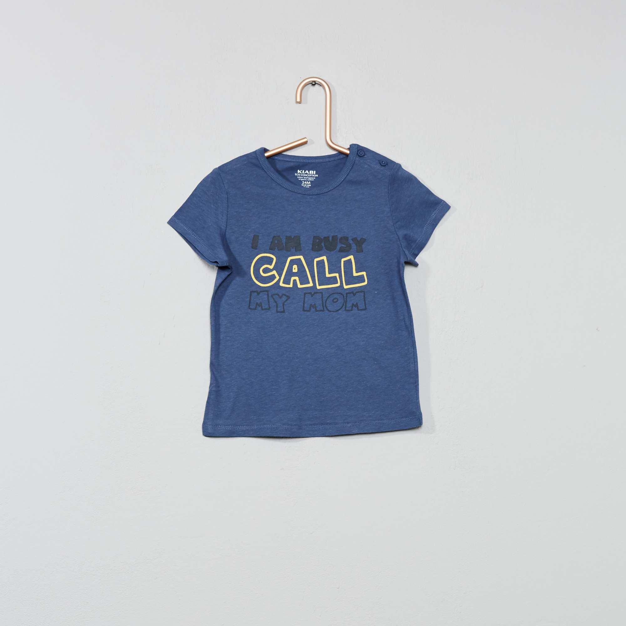 Kiabi Neonato 2 Cotone 00€ Maglietta Biologico b6y7gf