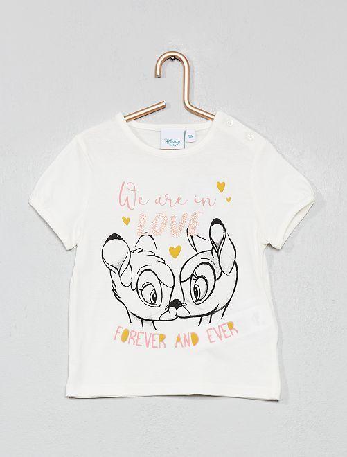 Maglietta 'Disney Baby'                                                                                         BIANCO Neonata