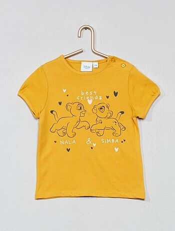 8df59a3ea5d513 Bambina 0-36 mesi - Maglietta 'Disney Baby' - Kiabi