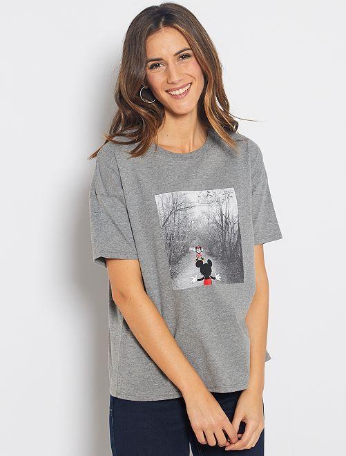 Maglietta 'Disney'                                                                                                                 GRIGIO
