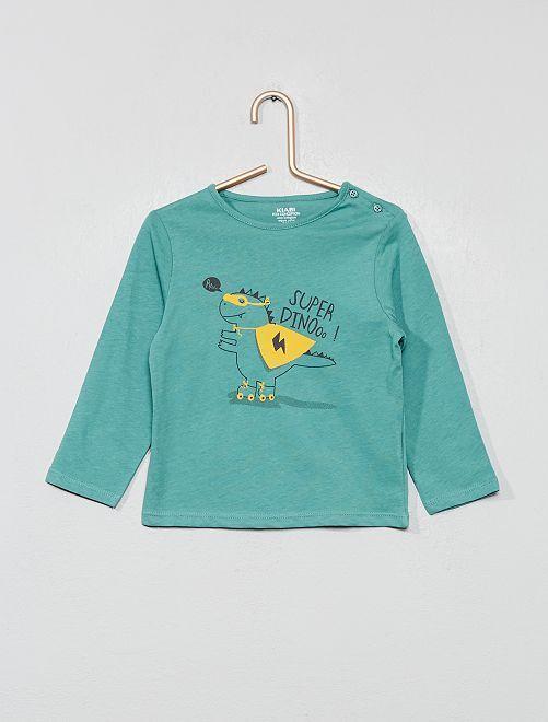 Maglietta 'Eco-design'                                                                                                                             BLU Neonato