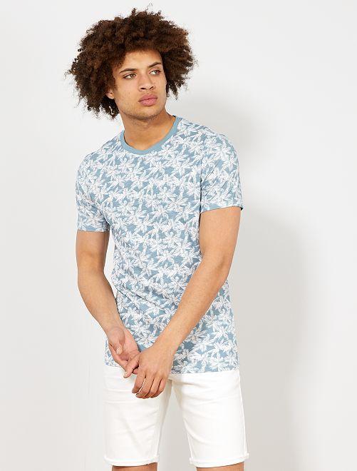 Maglietta eco-design cotone bio                                                                                                                                         BIANCO Uomo