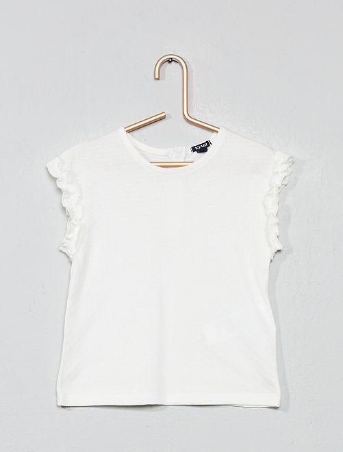 Maglietta fantasia                                                     bianco neve Neonata