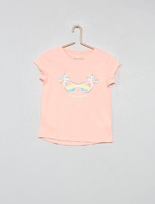 Maglietta fantasia                                                                 ROSA Infanzia bambina