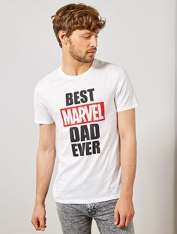 05fb0a1dc243 Maglietta festa del papà  Marvel  - Kiabi
