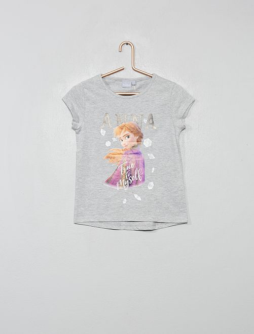 Maglietta 'Frozen II'                     GRIGIO