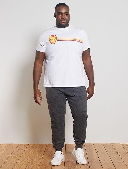 Maglietta 'Iron Man'                                                     BIANCO