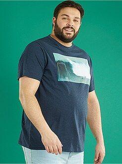 Magliette - Maglietta jersey con stampa - Kiabi