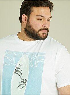 Magliette - Maglietta jersey stampa tropicale - Kiabi